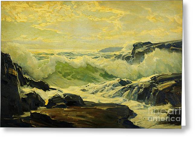 Coast Of Maine  Greeting Card by Celestial Images