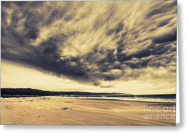 Coast Of Marengo Victoria Greeting Card by Jorgo Photography - Wall Art Gallery