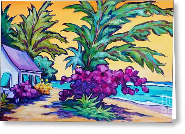 Coast Road Home Greeting Card by John Clark