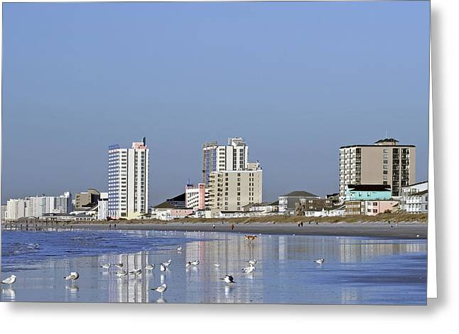 Coastal Architecture Greeting Card