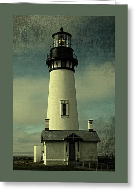 Coastal Breeze At Yaquina Head Greeting Card