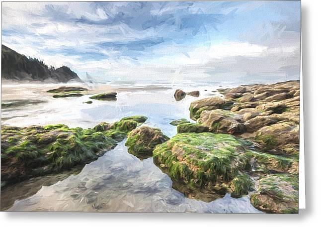 Coastal Colors II Greeting Card