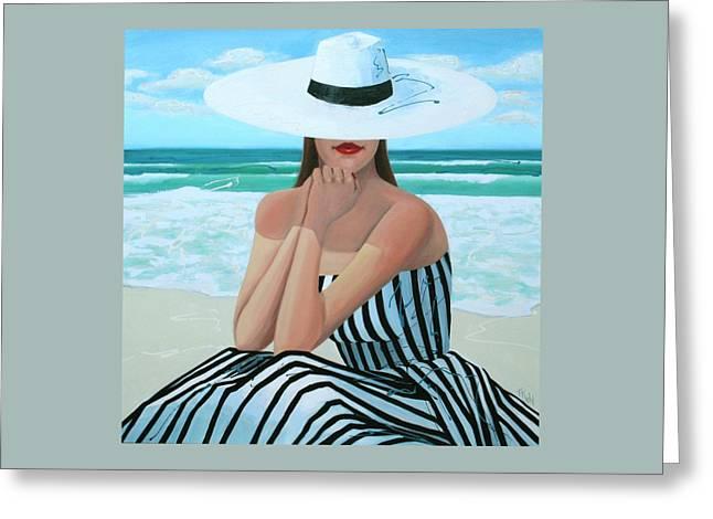 Coastal Dreams Greeting Card by Thalia Kahl