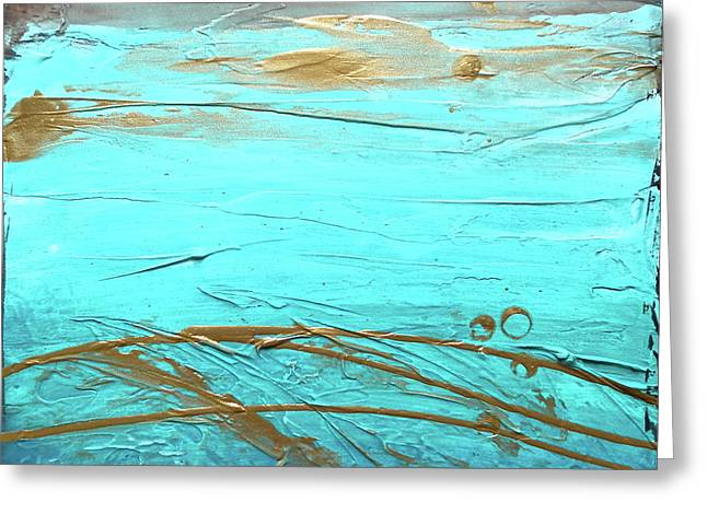 Coastal Escape II Greeting Card by Kristen Abrahamson