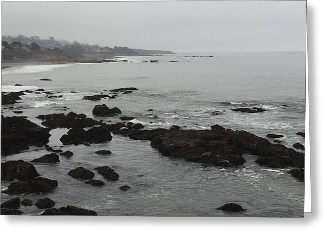 Coastal Fog Greeting Card