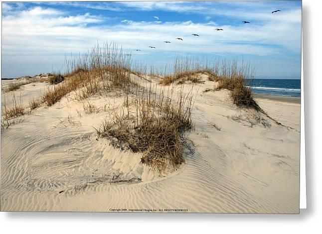 Coastal Formation Greeting Card by Kelvin Booker