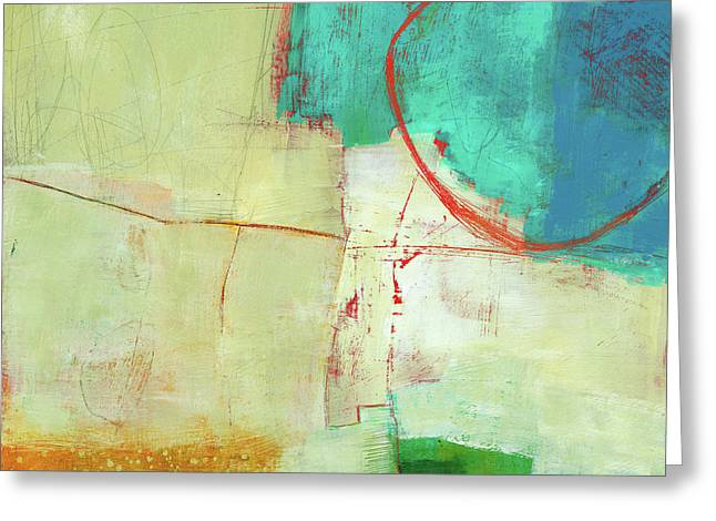 Coastal Fragment #7 Greeting Card by Jane Davies