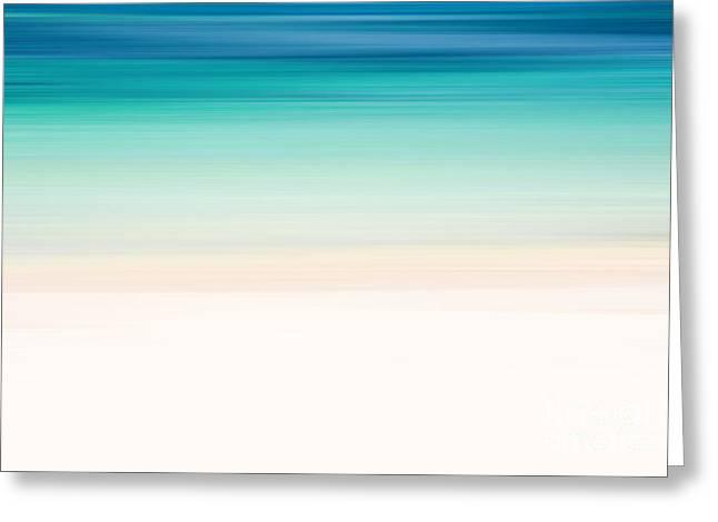 Coastal Horizon 12 Greeting Card