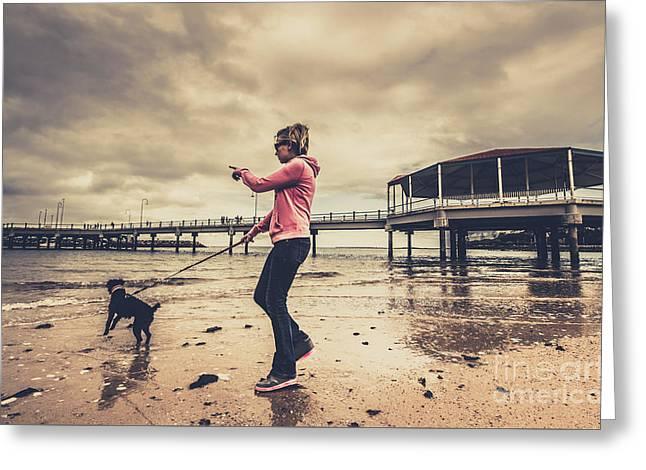 Coastal Lifestyle Portrait Greeting Card by Jorgo Photography - Wall Art Gallery