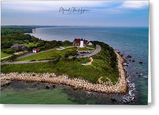 Coastal Nobska Point Lighthouse Greeting Card