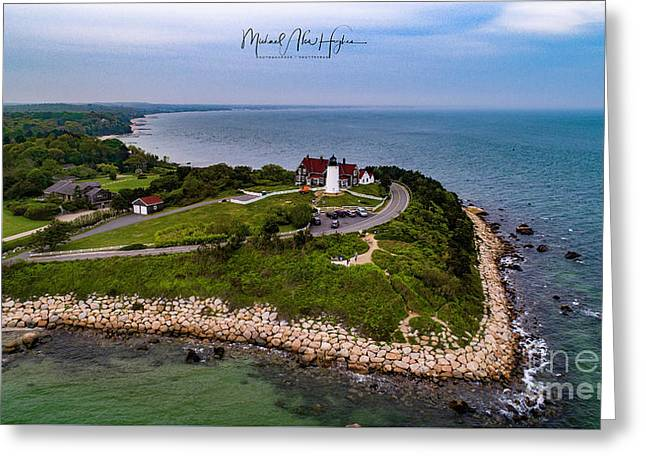 Coastal Nobska Point Lighthouse Greeting Card