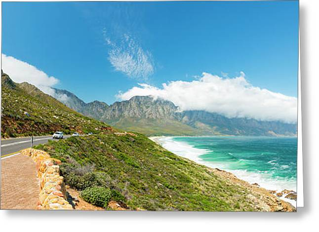 Coastal Road South Africa Greeting Card by Tim Hester