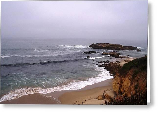Coastal Scene 5 Greeting Card by Pharris Art