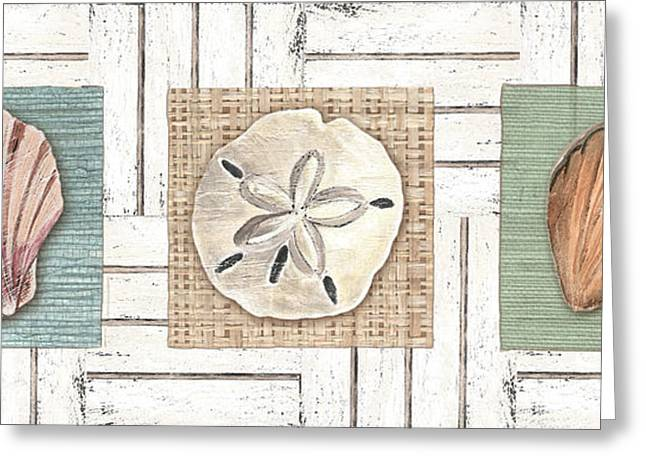 Coastal Shells 1 Greeting Card