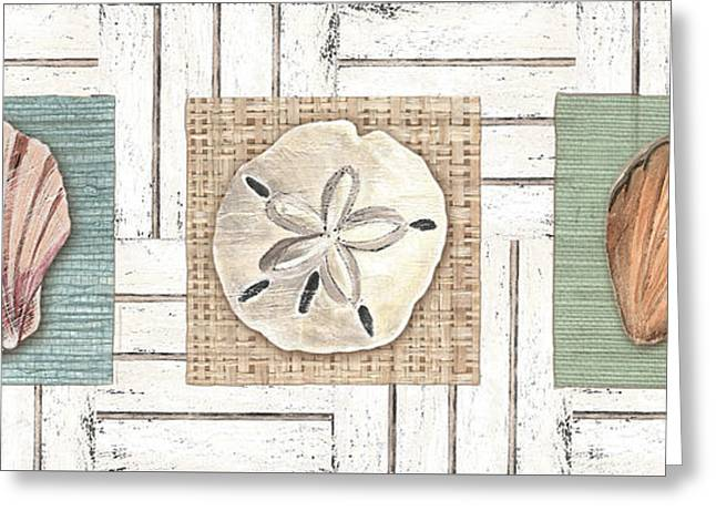 Coastal Shells 1 Greeting Card by Debbie DeWitt