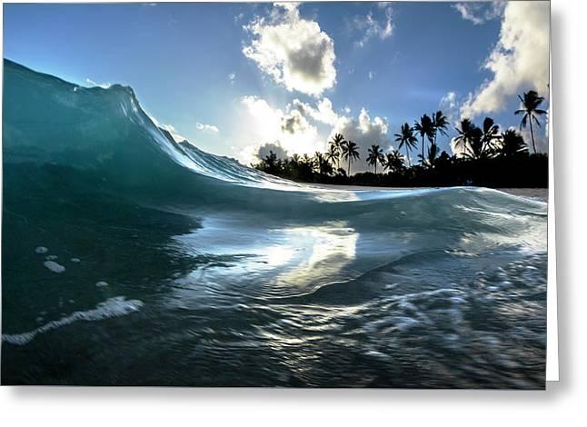 Coastal Surge Greeting Card