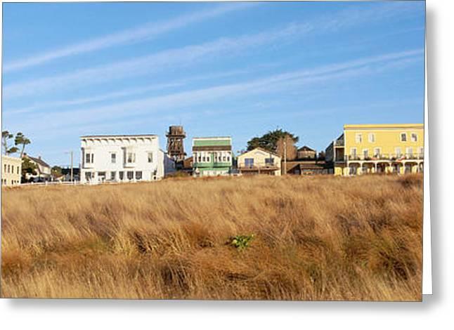 Coastal Town, Mendocino, California Greeting Card by Panoramic Images