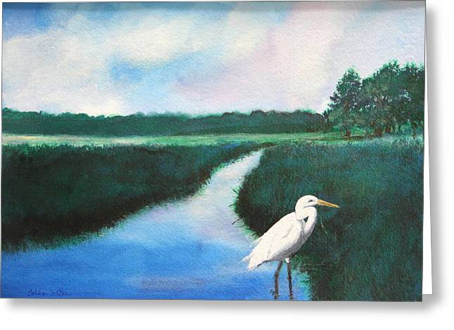 Coastal Wetlands Greeting Card