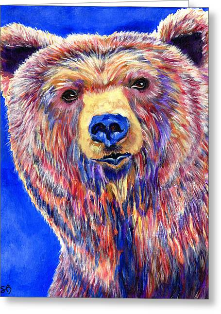 Coat Of Many Colours Greeting Card by Sarah Beck