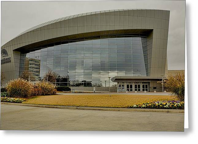 Greeting Card featuring the photograph Cobb Center by Kim Wilson