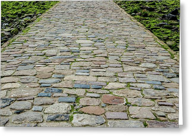 Cobbled Causeway Greeting Card
