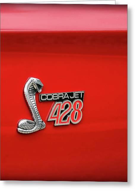 Cobra Jet 428 Greeting Card by Gordon Dean II