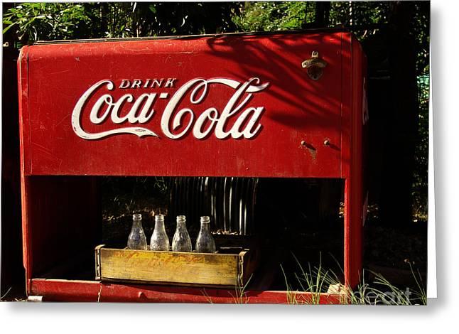 Coca-cola Greeting Card