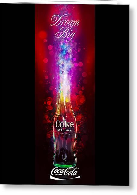 Coca-cola Dream Big Greeting Card