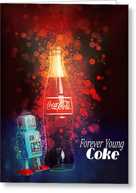 Coca-cola Forever Young 15 Greeting Card