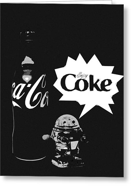 Greeting Card featuring the photograph Coca-cola Forever Young 9 by James Sage