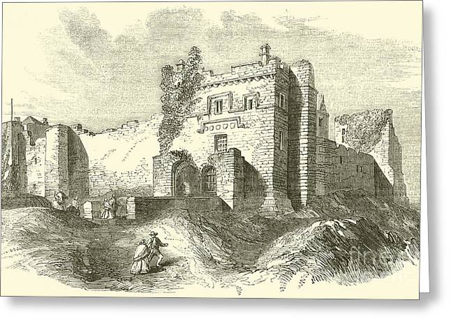 Cockermouth Castle Greeting Card