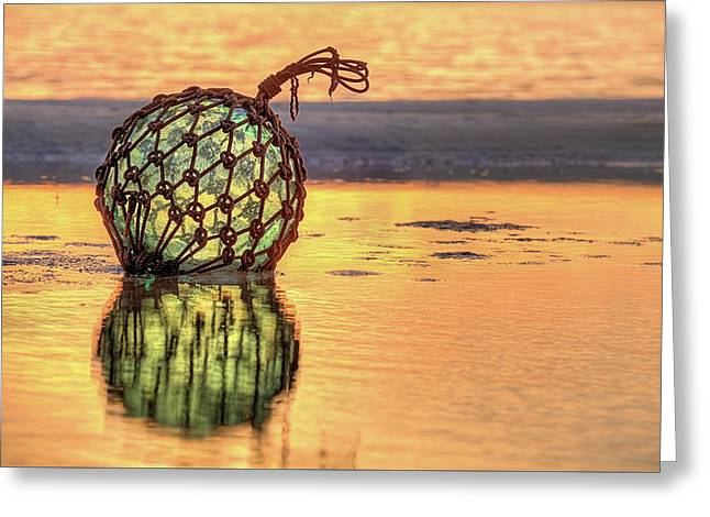 Cocoa Beach Sunset Greeting Card by JC Findley