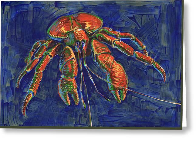 Coconut Crab Greeting Card