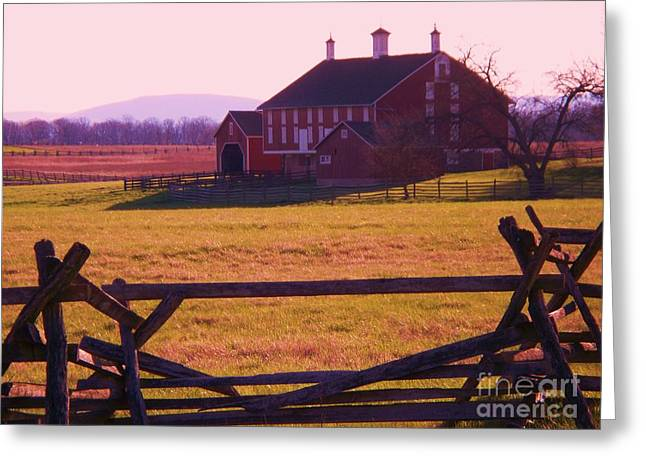 Codori Barn Gettysburg Greeting Card