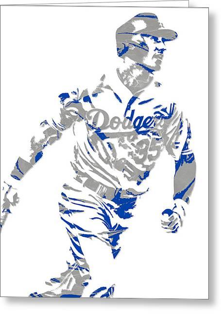 Cody Bellinger Los Angeles Dodgers Pixel Art 1 Greeting Card