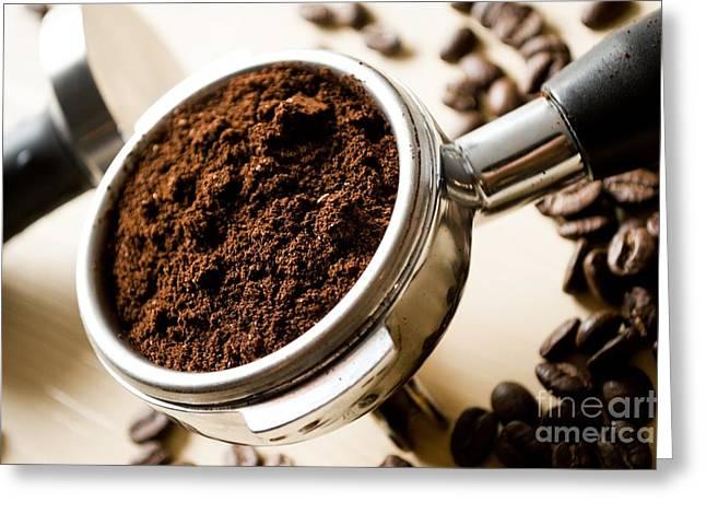 Coffee #10 Greeting Card