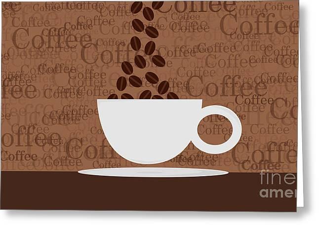 Coffee #3 Greeting Card