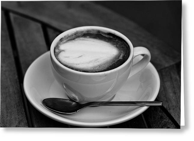 Coffee 4 Greeting Card by Edward Myers