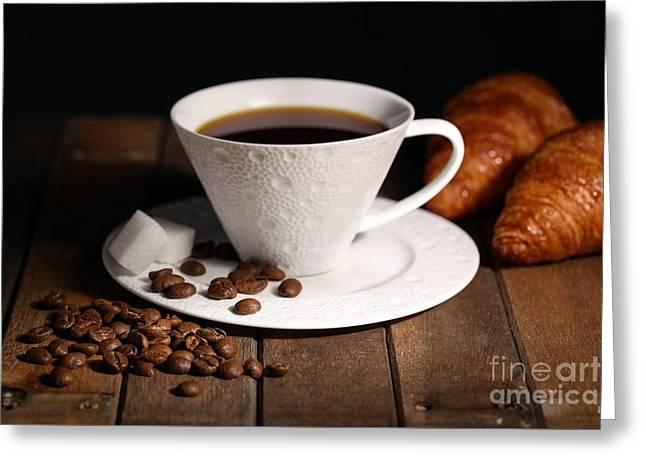 Coffee #4 Greeting Card