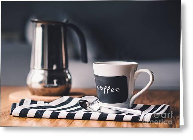Coffee #5  Greeting Card