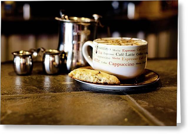 Coffee Bar Greeting Card