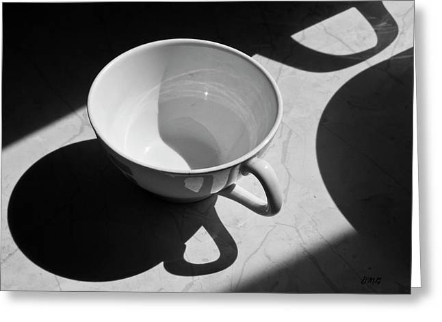 Coffee Cup In Light And Shadow Greeting Card