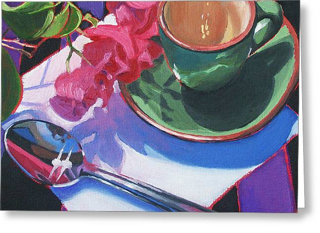 Coffee For One Greeting Card