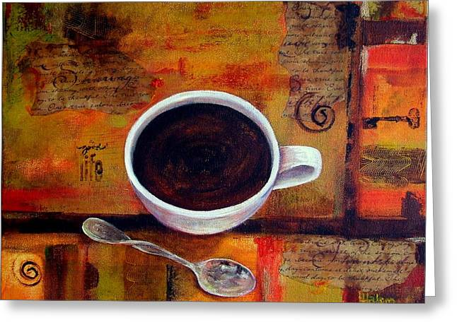 Coffee I Greeting Card
