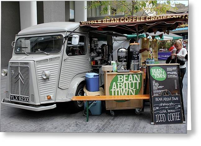 Coffee Truck Greeting Card