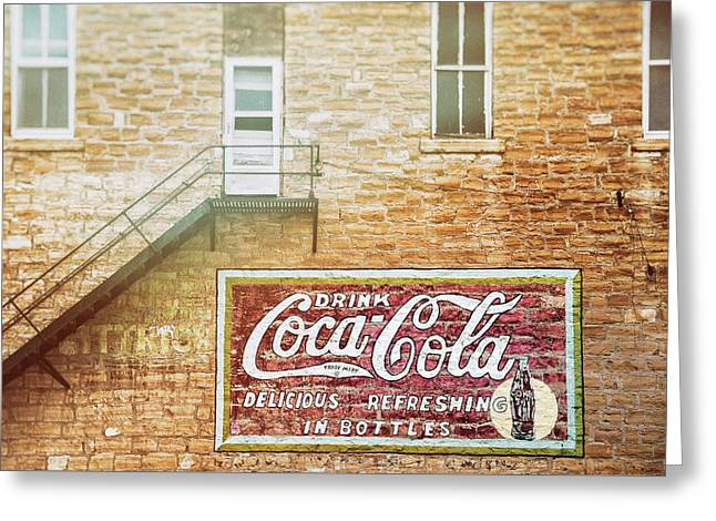 Coke Classic Greeting Card by Darren White