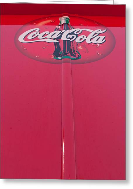 Coke Lollipop Greeting Card by Scott Campbell