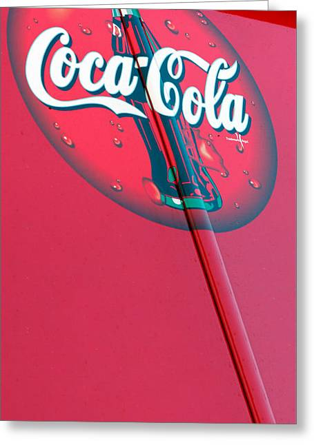 Cokesicle Coca Cola Greeting Card by Scott Campbell