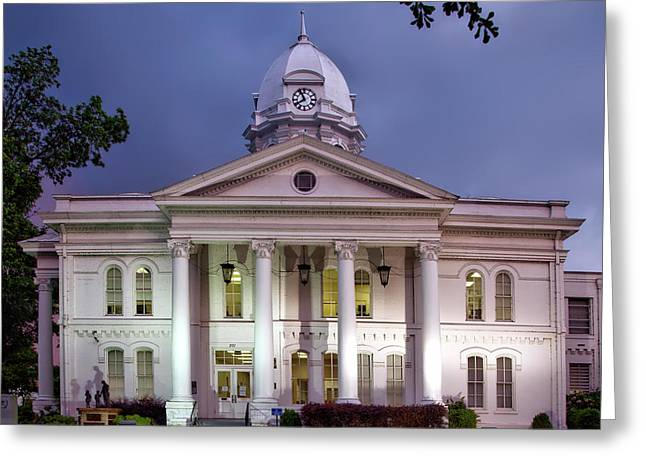 Colbert County Courthouse - Tuscumbia Alabama Greeting Card