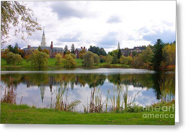 Colby College  Greeting Card